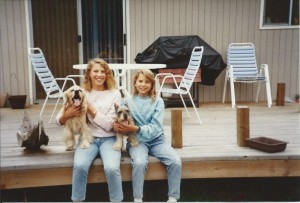 Susan & Denise No date with puppies